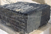 Negro Marquina marble block