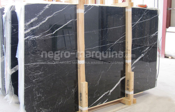 Negro Marquina Commercial slabs
