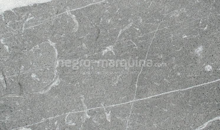 Negro Marquina marble sandblasted