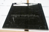 Negro Marquina marble tile